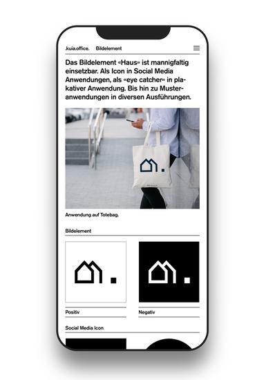 HI Brand Portal Schrifzug Screen Mobile II