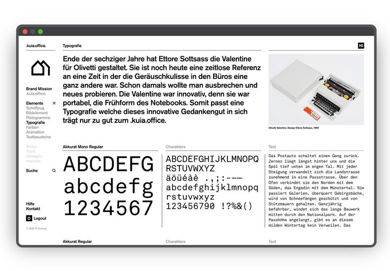 HI Brand Portal Typografie Screen Normal